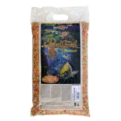 COBBYS PET POND GRANULES COLOUR LARGE 5 l  (0,70kg) taška