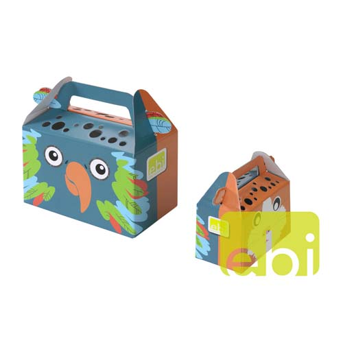 EBI PAPER TRANSPORT BOX -MEDIUM- / ca.19,2x10,4x12,8cm
