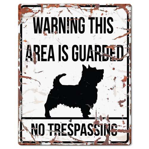 EBI D&D Fém tábla Terrier 20x0,17x25cm fehér