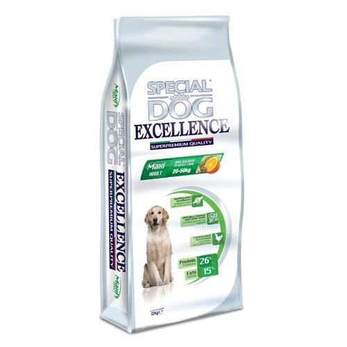 SPECIAL DOG EXCELLENCE MAXI ADULT 12kg 26/15 szuperprémium kutyatáp nagytermetű kutyáknak