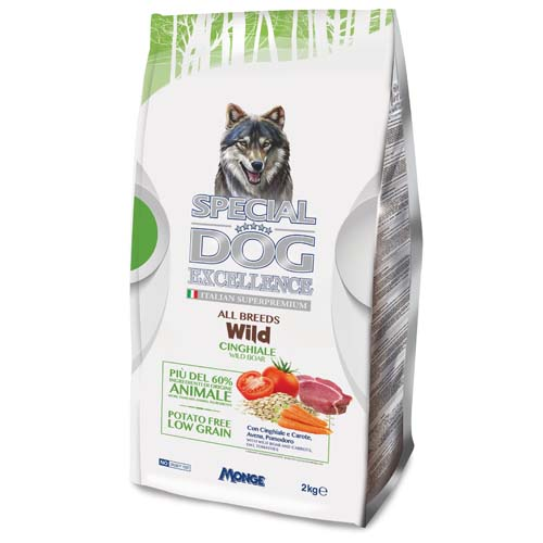 SPECIAL DOG EXCELLENCE ALL BREEDS WILD vaddisznó 2,0kg 29/17 szuperprémium