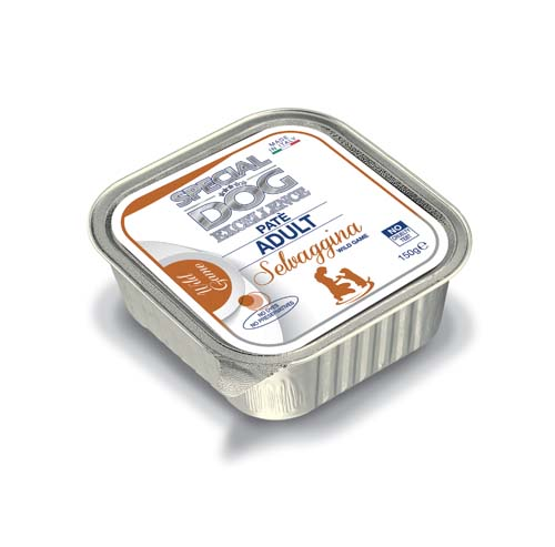 SPECIAL DOG EXCELLENCE ADULT pate Wild zverina 150g vanička