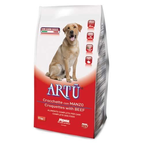 ARTÚ Dry dog Croquettes marhahússal 4kg 21/8
