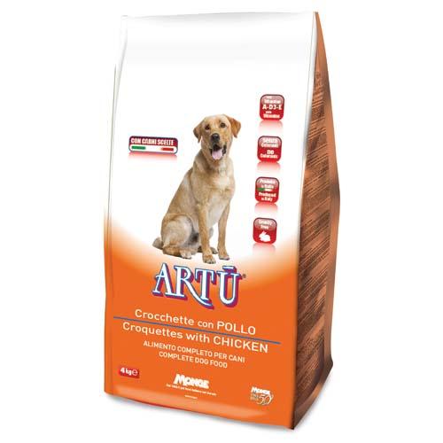 ARTÚ Dry dog Croquettes csirkével 4kg 21/8