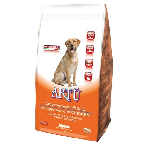ARTÚ Dry dog Croquettes csirkével 20kg 21/8