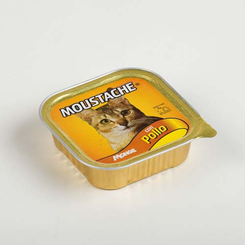 MOUSTACHE Cat Pate csirke 100g