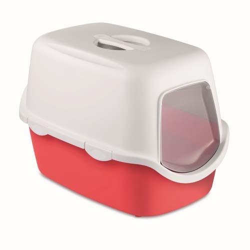 STEFANPLAST Trendy Colours Line CATHY white/vermilion red 56x40x40cm szűrő nélkül