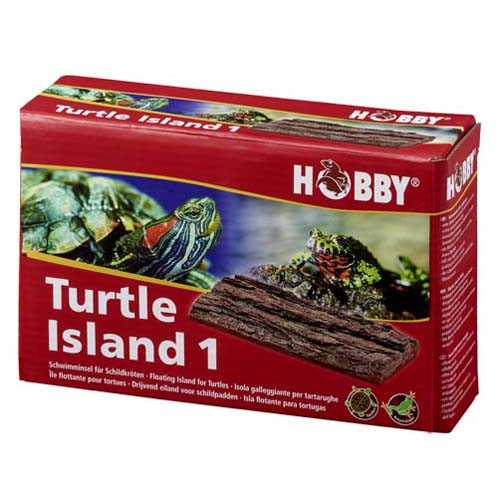 Turtle Island 1 / 17,5 x 11 cm - úszó sziget hüllőknek