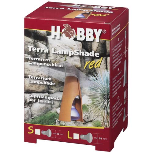 HOBBY Terra LampShade S red - lámpabúra hüllőknek