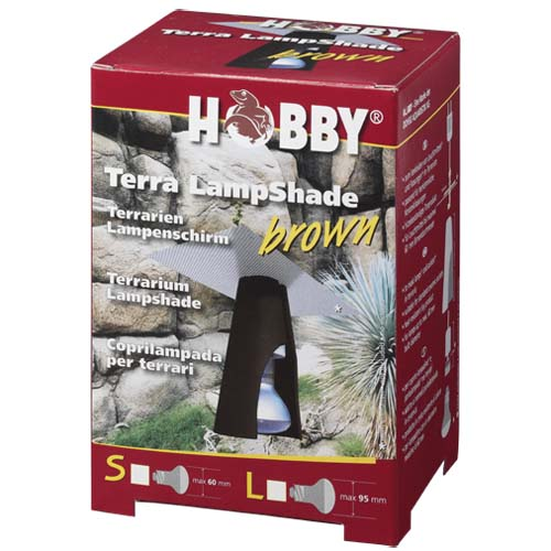 HOBBY Terra LampShade S brown - lámpabúra hüllőknek