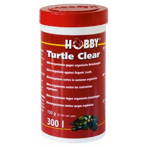 HOBBY Turtle Clear 150 g 30l-re tisztító mikroorganizmusok
